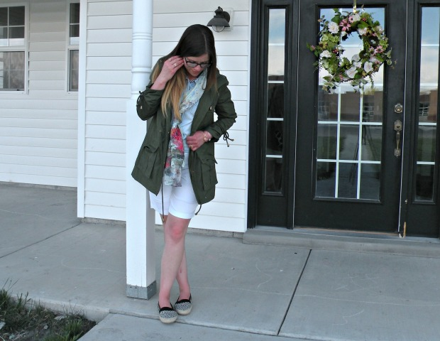 Jill's Spring Layering Piece:  mark. Luck Of The Drawstring Anorak