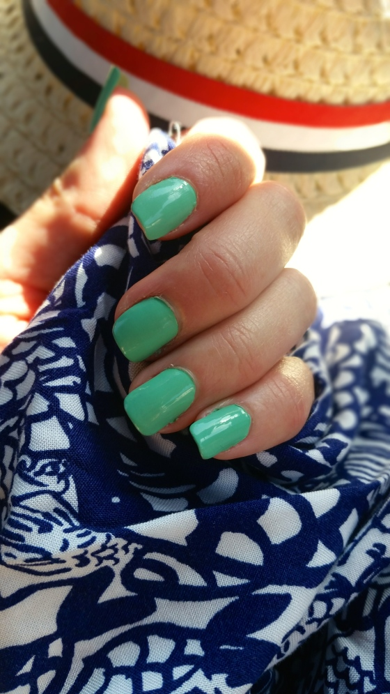 Lilly For Target Upstream Print Pairs Perfectly With Essie First Timer