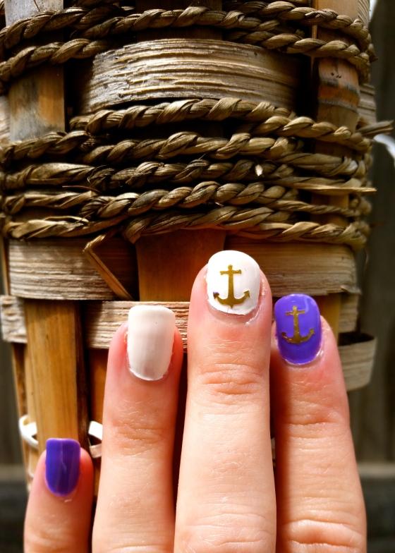 Week O'Nautical Nails with Julep