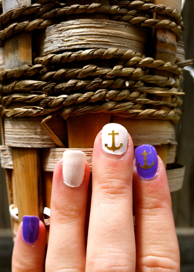 Week O'Nautical Nails with Julep