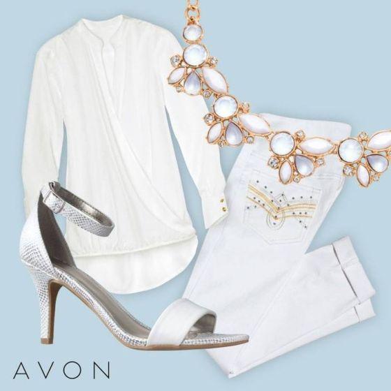 Avon White Party for Spring