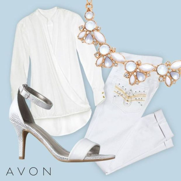 Avon White Party for Spring