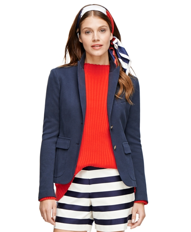 Brooks Brothers Cotton Knit Blazer ($298)