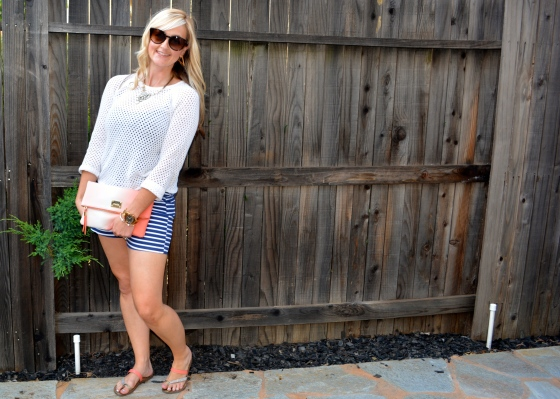 Nautical Shorts For A Casual Look