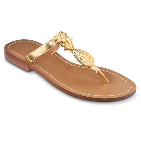 Lilly For Target Pineapple Sandals