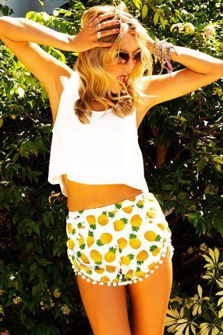 Pineapple Prints for Spring