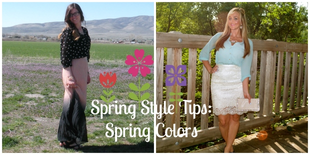 How To Style Spring Colors