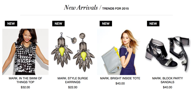 Citron Trend featured in the new arrivals from mark.