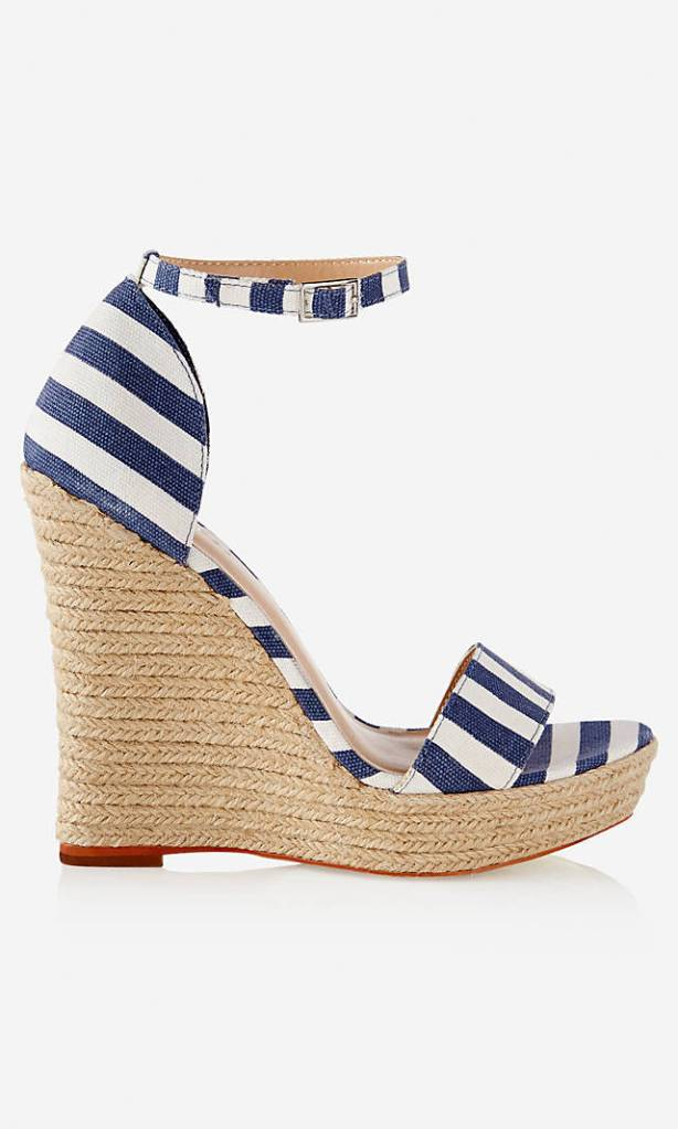 Express Espadrille Wedge Sandals