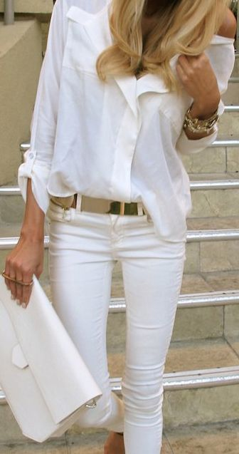On The Hunt For White Jeans