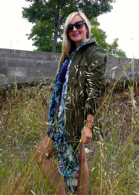 Spring Layers With An Anorak