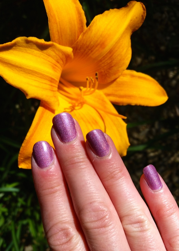Palermo Purple the PERFECT Halo Polish