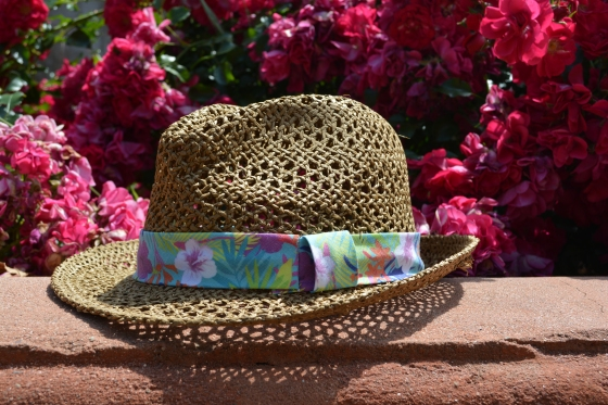 mark. From The Top Fedora (with floral band)