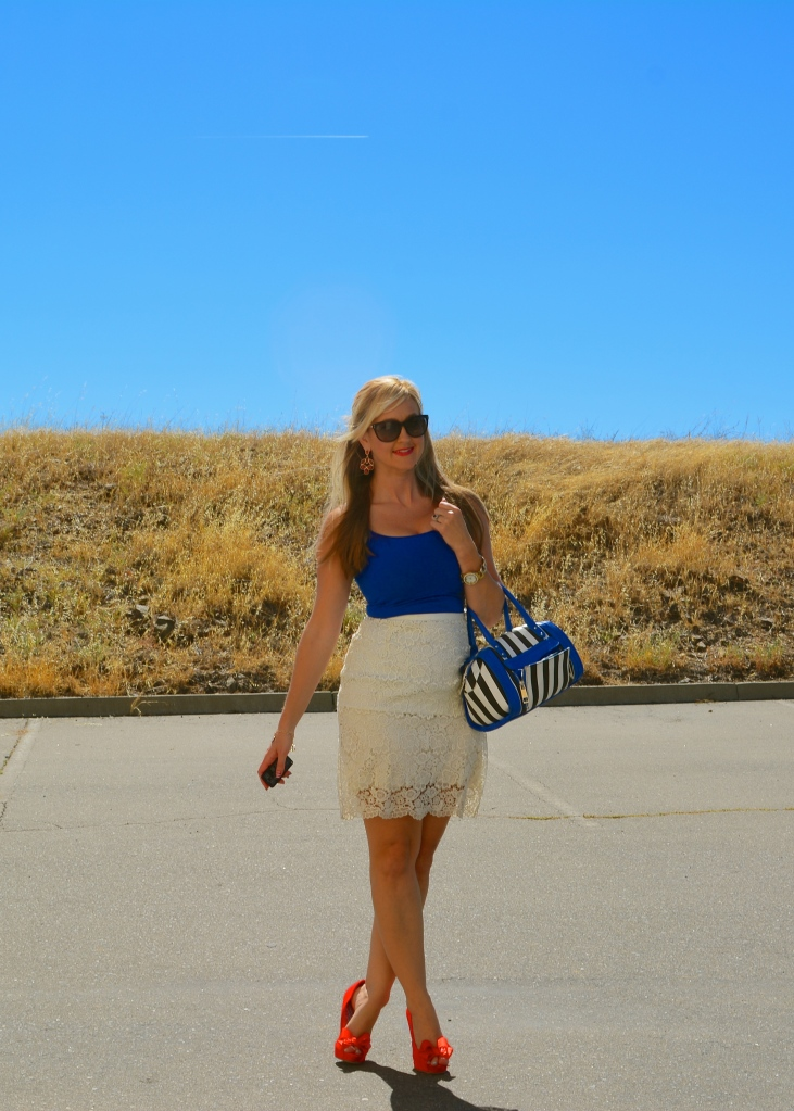 Red White and Blue for Week O'Nautical