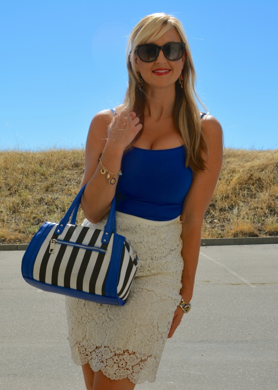 A Little Dazzling Cobalt Blue for the 4th
