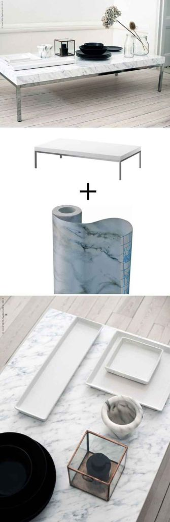 Marble Ikea Hacks