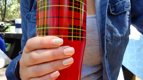 The Perfect Summer Camp Mani