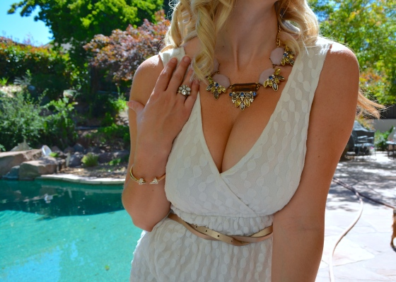 Rose Gold Accents With My Statement Pieces