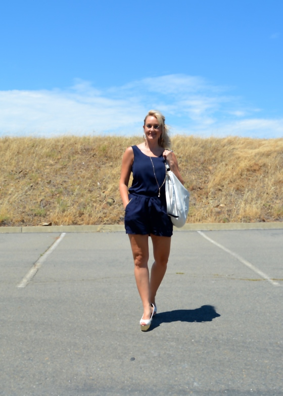 Nautical Navy and White Look for Summer
