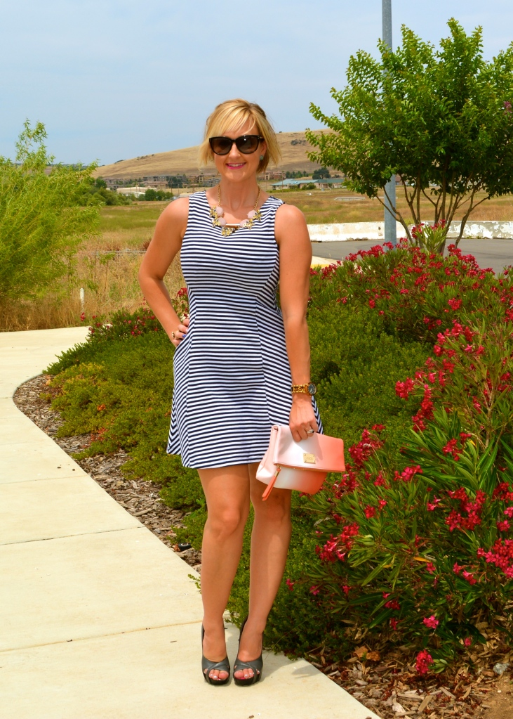 Nautical Fit and Flare Look