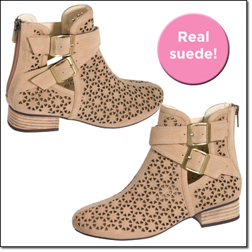mark. Just Perfect Booties NOW $37.99