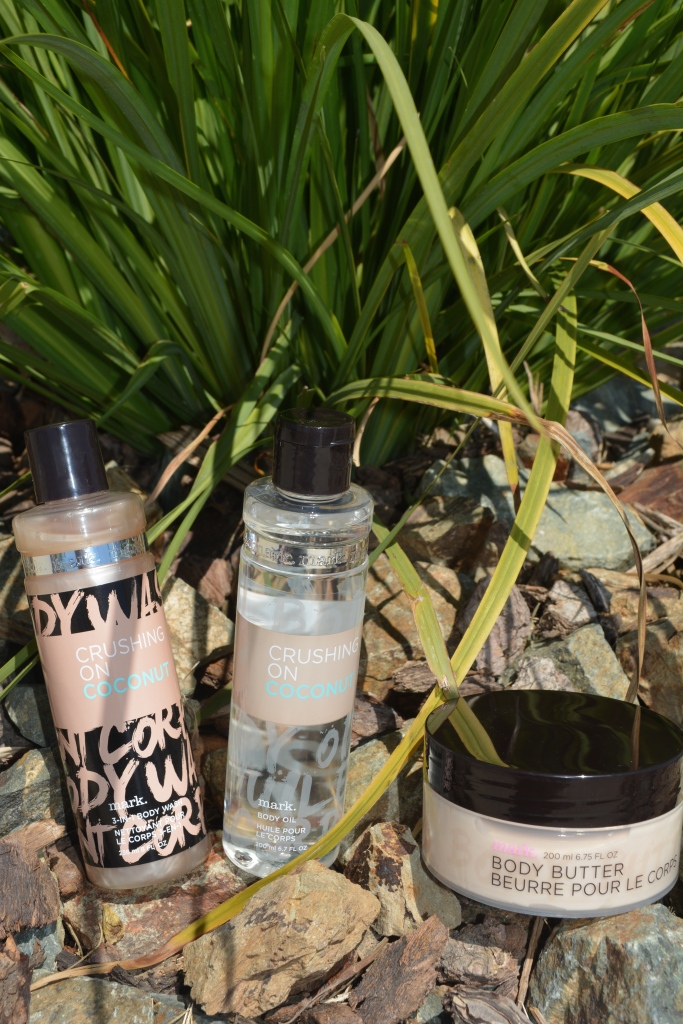 mark. Crushing on Coconut Bath and Body Collection