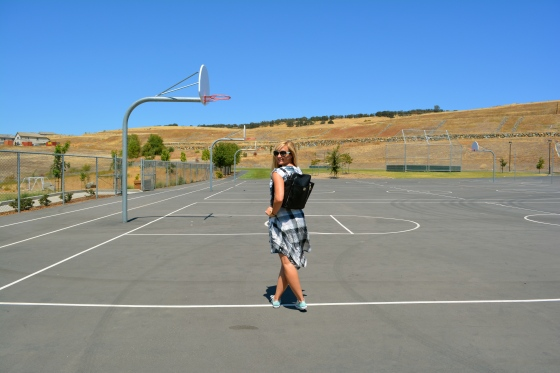 Chucks On The B-Ball Court