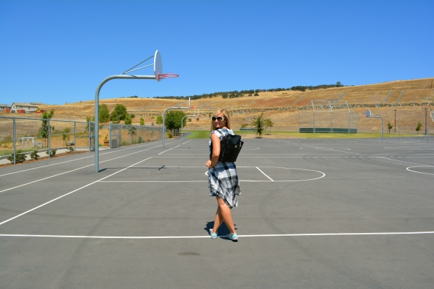 Chucks On The B-Ball Court