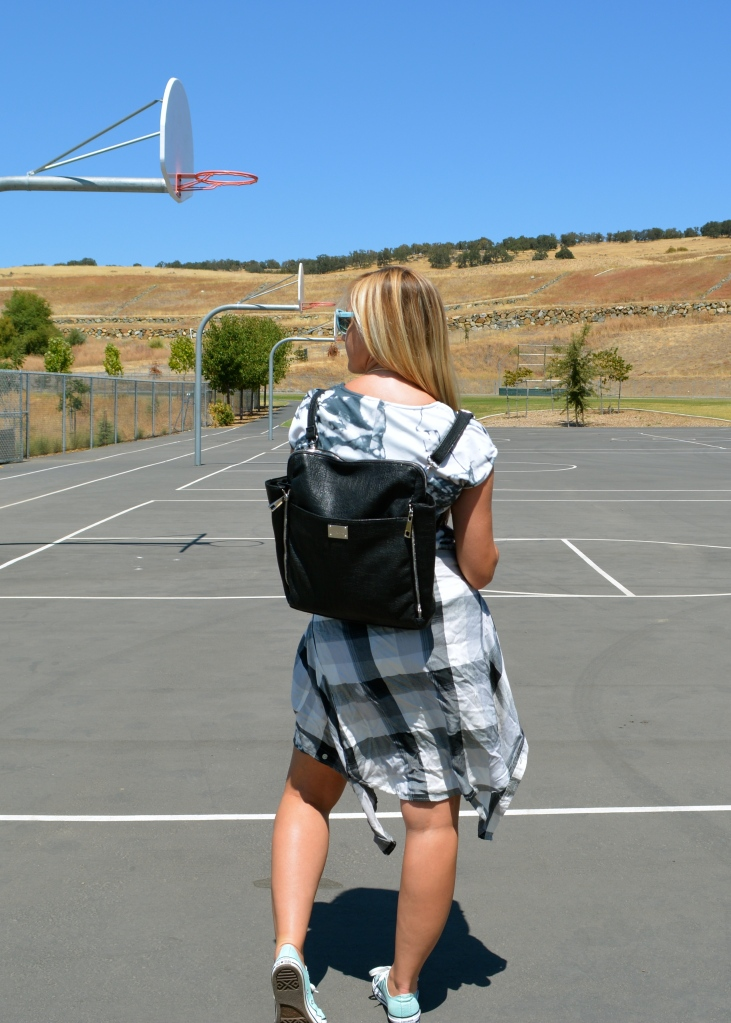 mark. Draw To A Close Bag - Worn As A Back Pack