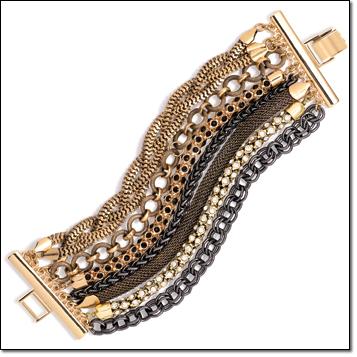 mark. Closely Linked Bracelet