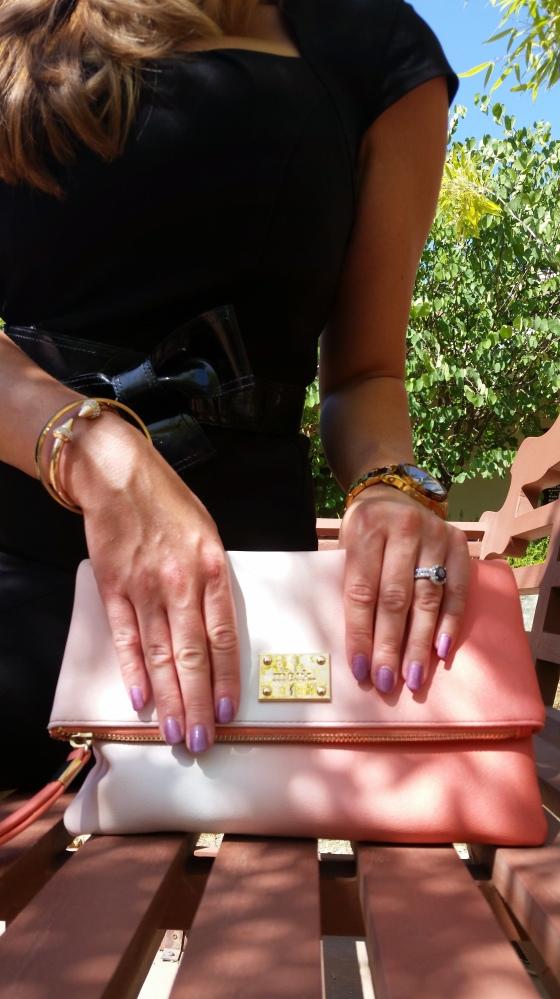 #mynailsandmybag a purple with a halo!