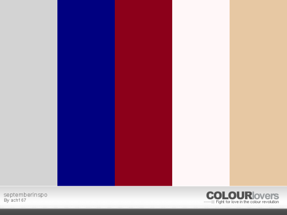 September Inspo Colors