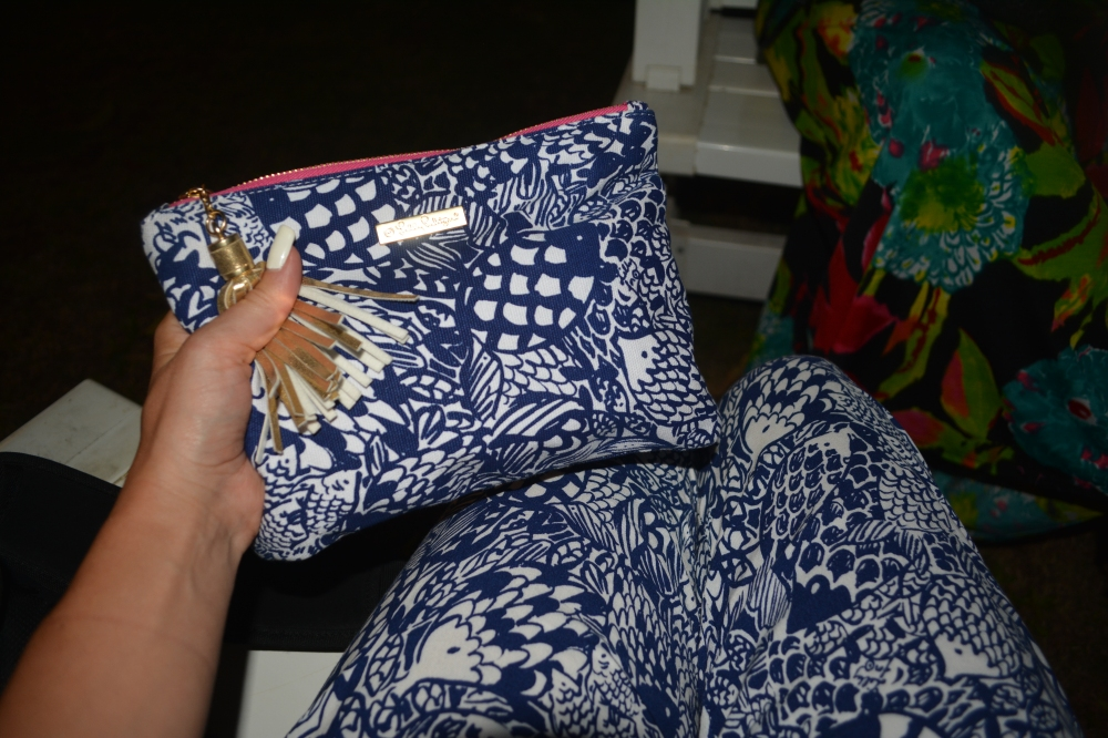 Fishes on Fishes - Upstream Print Pouch and Jumpsuit!