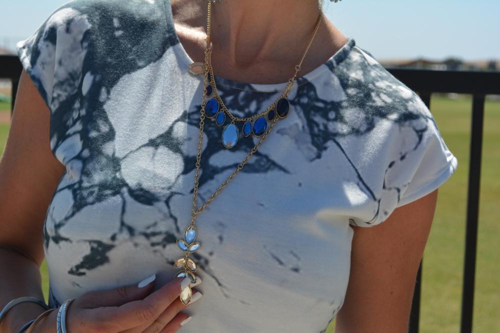 Avon Style Swap Midnight Ink Necklace