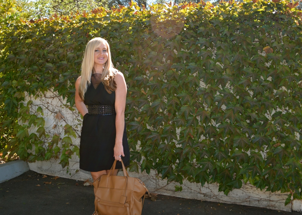 Menswear Inspired LBD For Fall