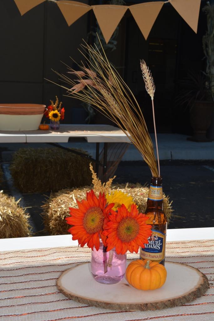 Fall Friendly Oktoberfest Cenerpieces
