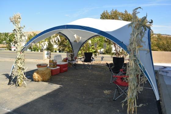 Beer Garden Tent