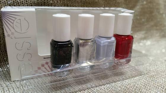 Essie Virgin Snow Winter 2015 Mini Set