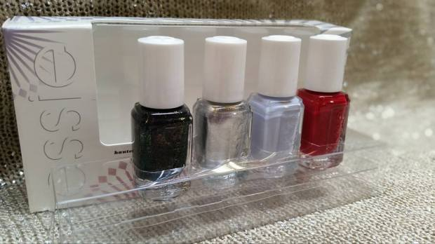 Essie Virgin Snow Winter 2015 Mini Set