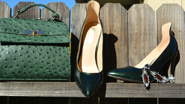mark. Emerald Princess Pumps
