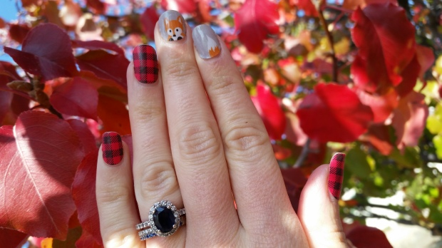 Mani Monday:  Thanksgiving Nails With Jamberry