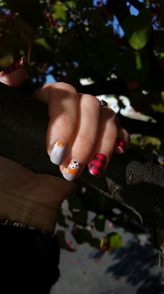 Jamberry Faux Fox and Friday Flannel