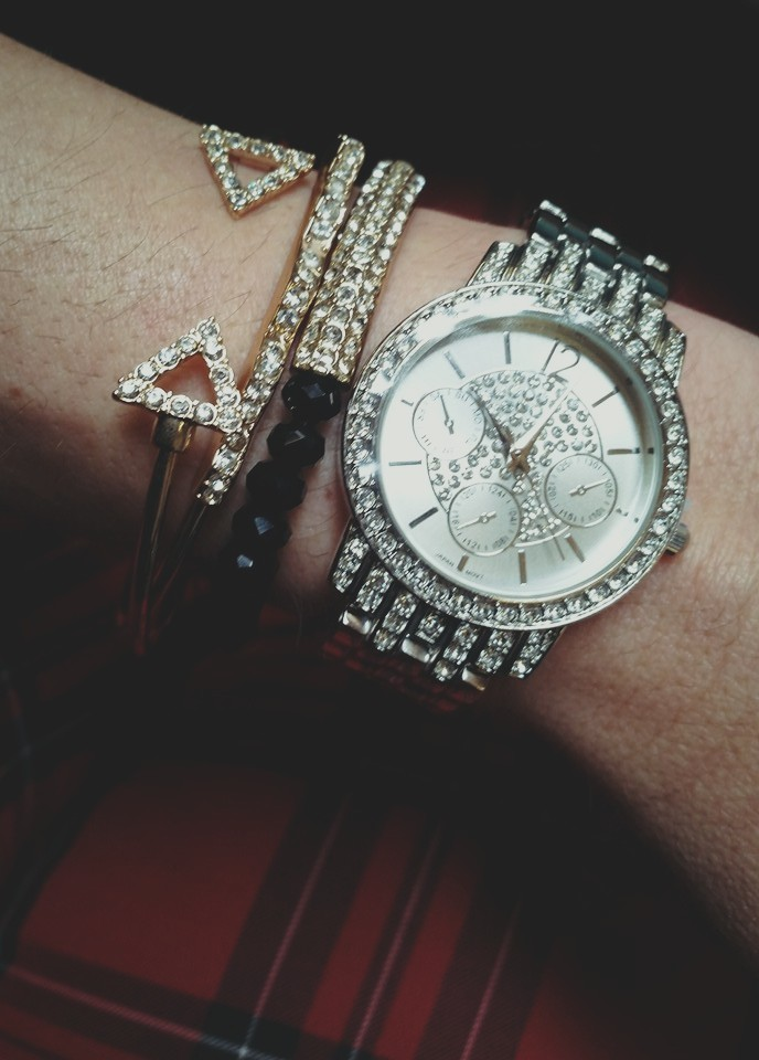 Avon Bling Pave Watch ONLY $19.99