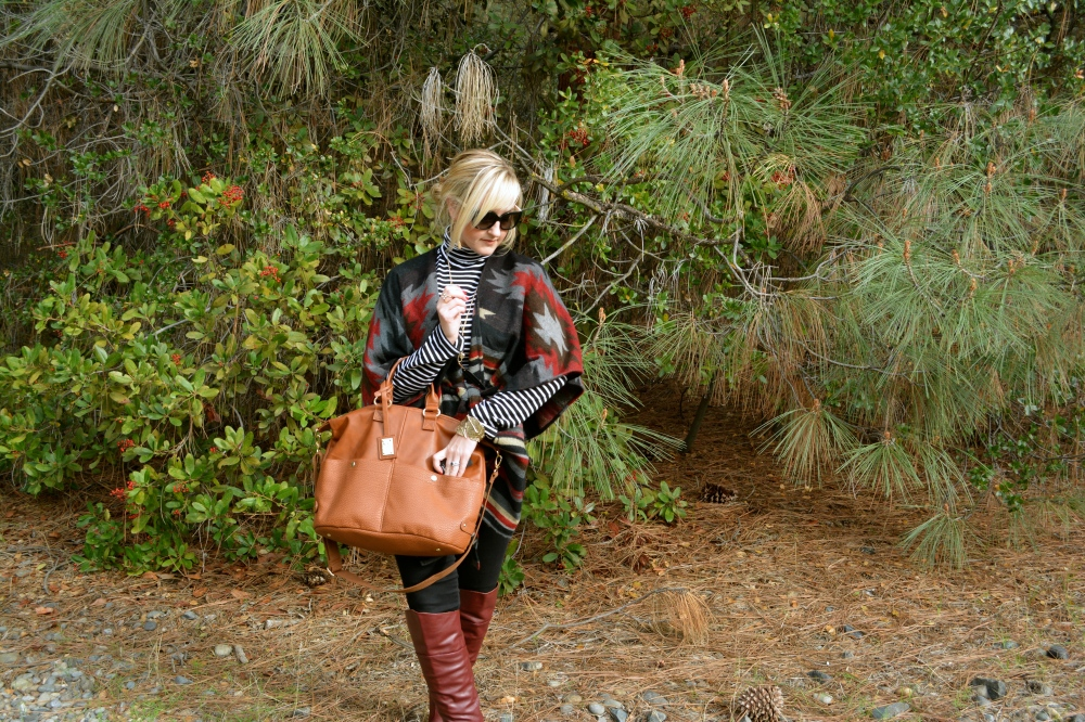 Tall Boots and a Weekender Bag!
