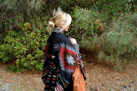A warm and chic cape
