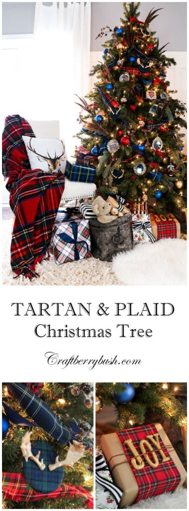 Plaid Holiday Decor