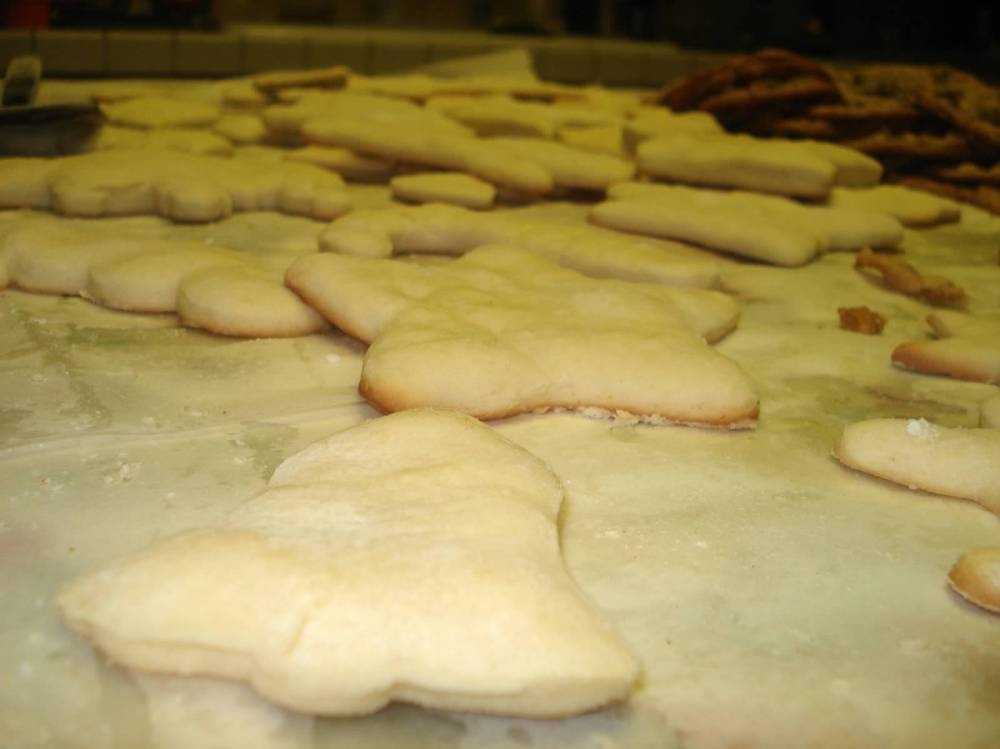 warm cookies out of the oven