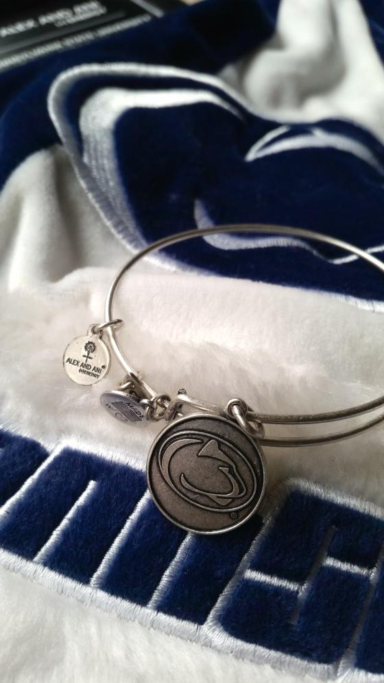 Alex and Ani Penn State Bracelet