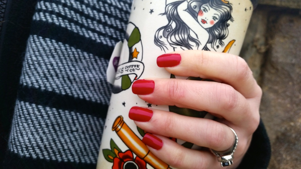 From Essie Apres Chic Collection:  Shall We Chalet