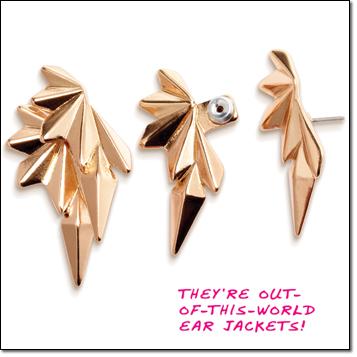 mark. Cosmic Blast Earrings